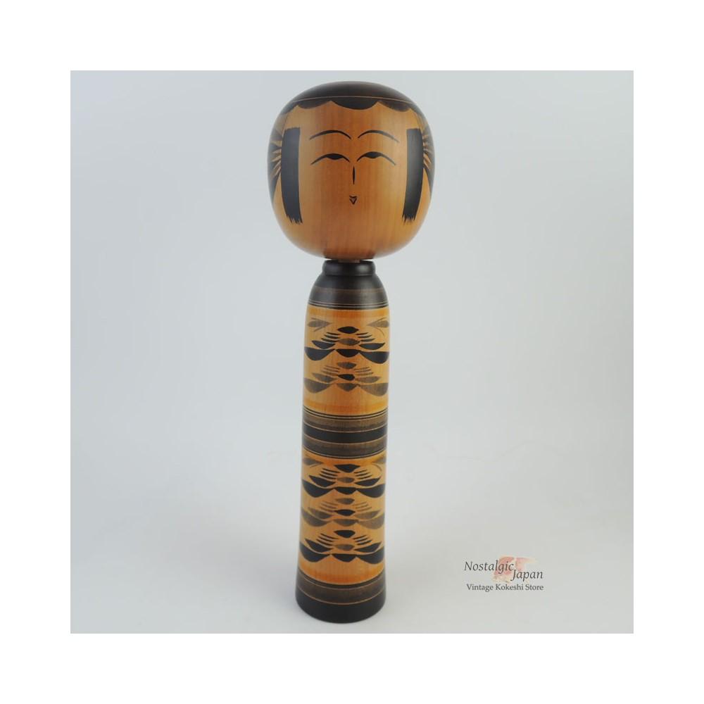 Traditional Kokeshi doll