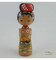 Mini Kokeshi Doll