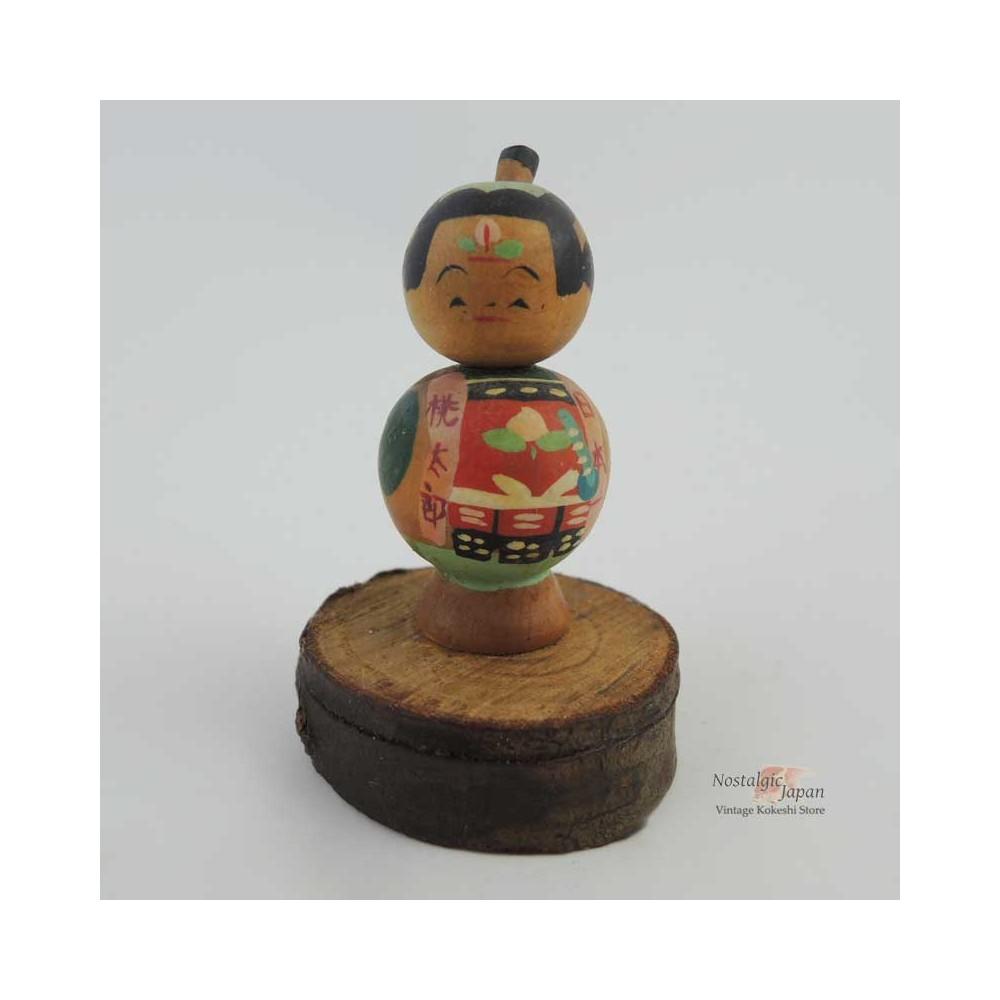 Mini poupée japonaise kokeshi