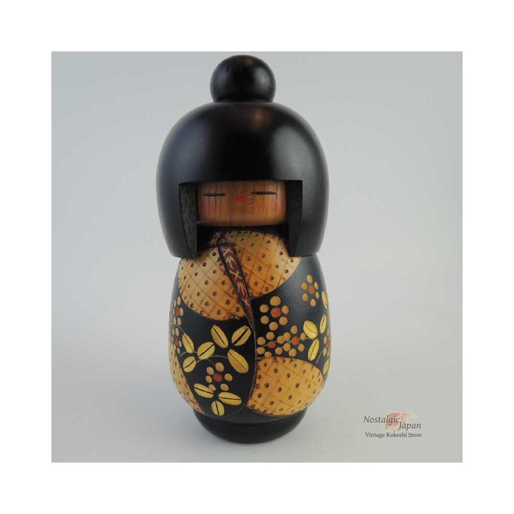 Poupée japonaise kokeshi moderne