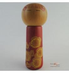 Poupée japonaise kokeshi unique