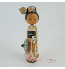 Poupée japonaise kokeshi Maiko