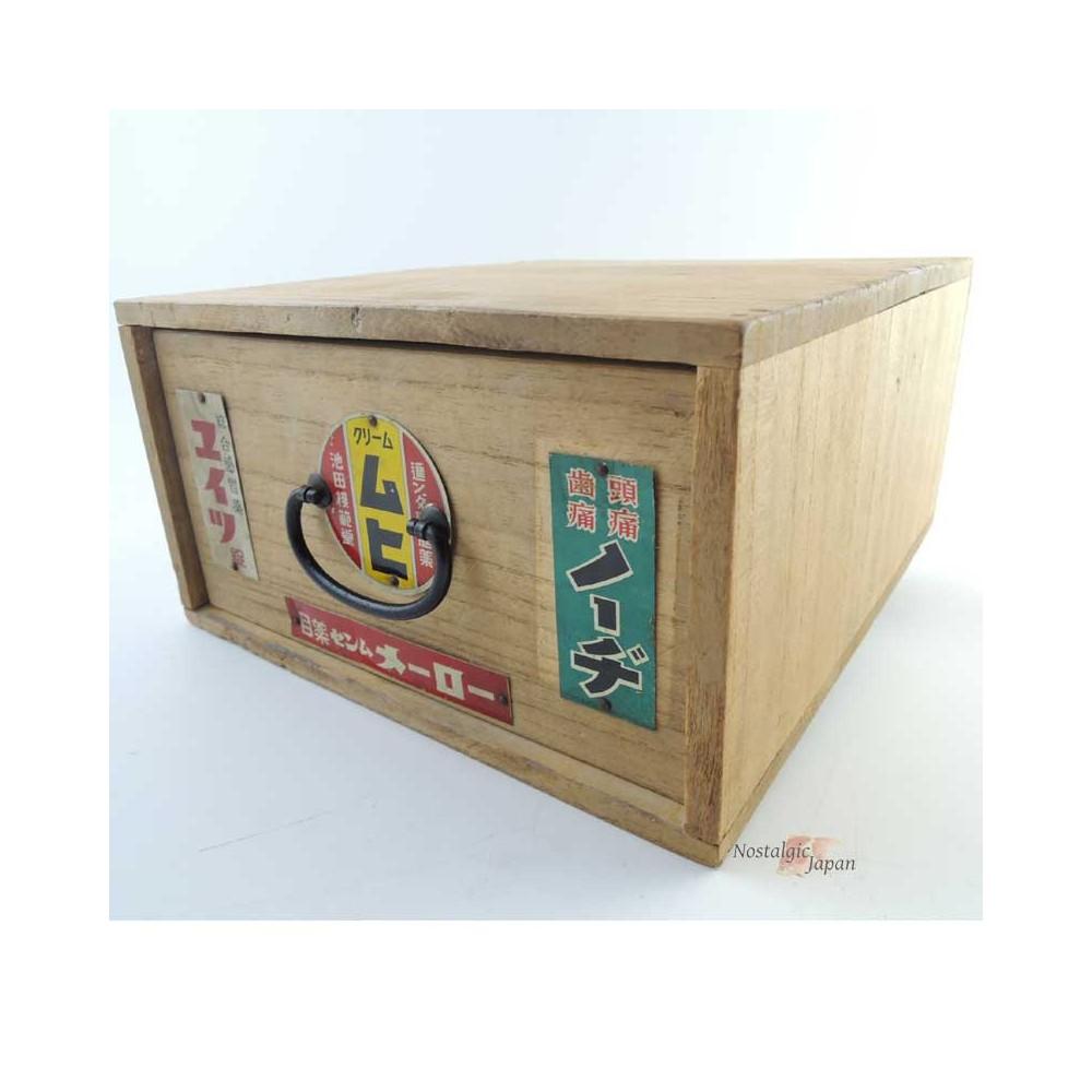 Japanese Vintage First Aid Kit Box