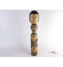 Traditional Kokeshi doll - Zenji Sato