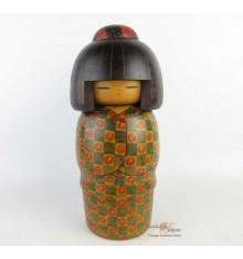 Modern Kokeshi Doll - Tomidokoro Fumio