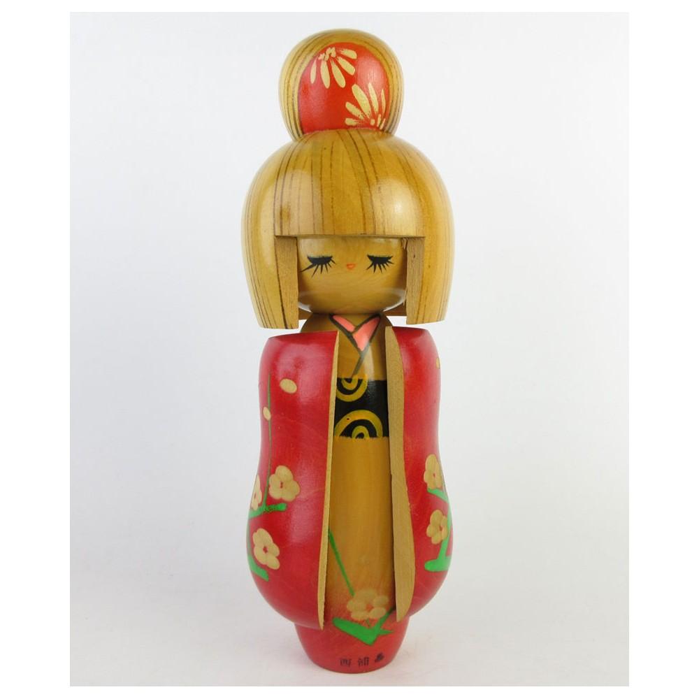 Modern Kokeshi Doll