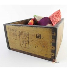 Japanese Antique Measuring Box, shabby box