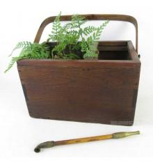 Boite vintage japonaise en bois
