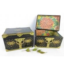 Japanese Vintage Wooden Box